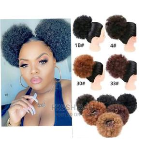 Afro Bun Wig   Hair Beauty for sale in Abia State, Aba North