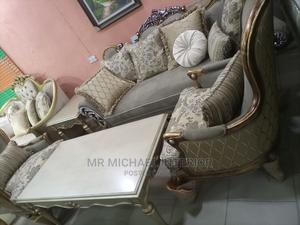 Complete Set of Imported Turkish Royal Fabric Sofa Chair Tab | Furniture for sale in Lagos State, Ajah