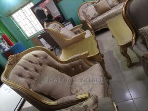 Complete Set of Turkish Royal Sofa Chair With Center Table | Furniture for sale in Lagos State, Ajah
