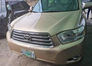 Toyota Highlander 2008 Limited 4x4 Gold | Cars for sale in Lagos State, Ogba