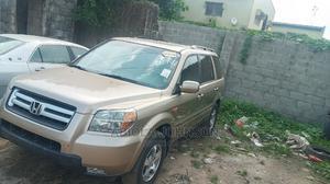 Honda Pilot 2007 EX-L 4x4 (3.5L 6cyl 5A) Gold | Cars for sale in Lagos State, Ikeja