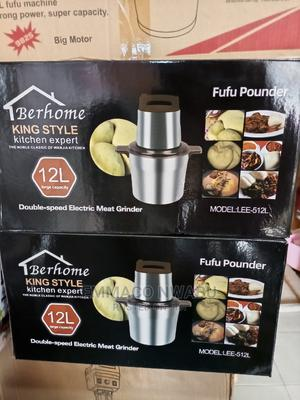 Berhome 12litres King Style Kitchen Expert Yam Pounder. | Kitchen Appliances for sale in Lagos State, Ojo