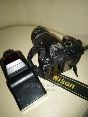 Almost New Nikon D5200, With Speed Light Lens 18-200** | Photo & Video Cameras for sale in Lagos State, Ogudu