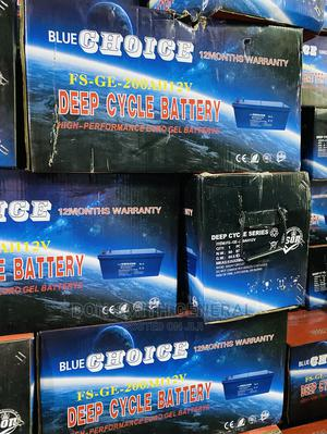 200ah 12v Blue Choice Deep Cycle Battery | Solar Energy for sale in Lagos State, Lekki