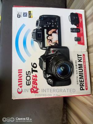Canon T6 SLR With 75-300 Extra Lens, Bag and Charger | Photo & Video Cameras for sale in Abuja (FCT) State, Wuse