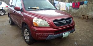 Honda Pilot 2005 Red   Cars for sale in Lagos State, Ajah
