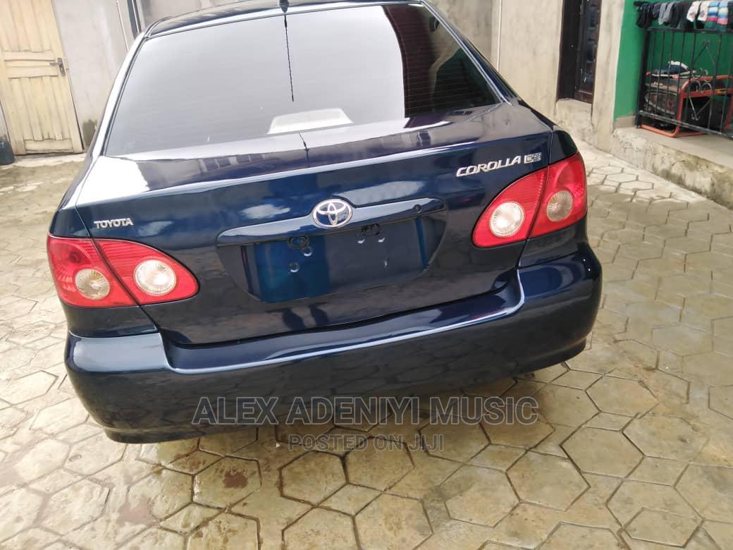 Toyota Corolla 2006 Black   Cars for sale in Ikotun/Igando, Lagos State, Nigeria