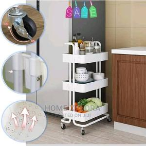 3 Layer Storage Shelf With Wheels | Home Accessories for sale in Lagos State, Lagos Island (Eko)