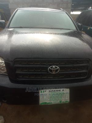 Toyota Highlander 2003 Black   Cars for sale in Lagos State, Egbe Idimu
