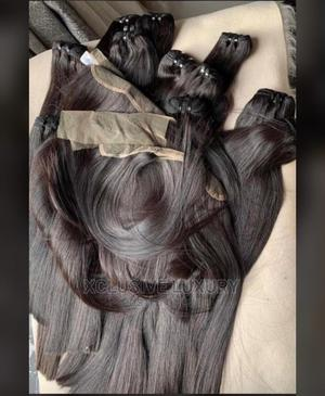 """Vietnam Bone Straight. 30inches With Matching 20"""" Closure 