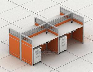 Quality Work Station by Four | Furniture for sale in Lagos State, Ojo