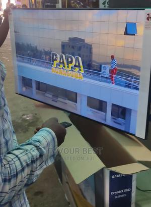 "Original Samsung Crystal 50""UHD SMART 4K 8series (TU8000)   TV & DVD Equipment for sale in Lagos State, Ojo"