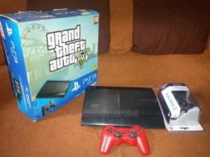 Superslim Ps3 ( Hacked) 500gb With Two Controllers. | Video Game Consoles for sale in Abuja (FCT) State, Central Business Dis