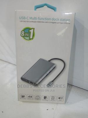 8 in 1 USB Type C Hub   Computer Accessories  for sale in Lagos State, Ikeja