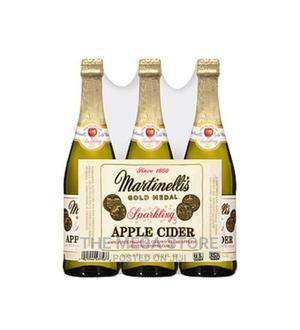 Martinellis Sparkling Cider 100% Juice - X3 Bottles | Meals & Drinks for sale in Lagos State, Surulere