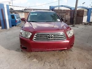Toyota Highlander 2008 Limited Red | Cars for sale in Lagos State, Surulere