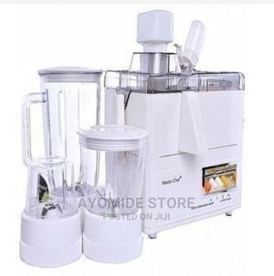 Master Chef MASTERCHEF 4 In 1 Juicer, Blender,Grinder&Mill | Kitchen Appliances for sale in Lagos State, Lagos Island (Eko)