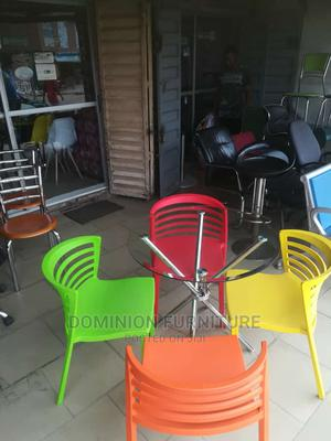 Good Quality Glass Dinning Table With 4 Chairs. | Furniture for sale in Lagos State, Lekki