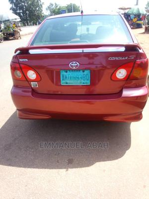 Toyota Corolla 2006 S Red   Cars for sale in Benue State, Makurdi