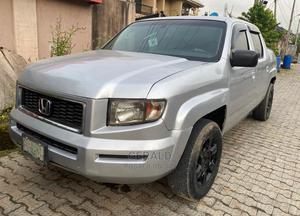 Honda Ridgeline 2008 RT Silver | Cars for sale in Lagos State, Surulere