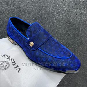 2021 Luxury Royal Blue Gianni Versace | Shoes for sale in Lagos State, Lagos Island (Eko)