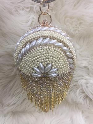 Classic Clutch Purse. Gold Designer Clutch Purse | Bags for sale in Lagos State, Ikeja