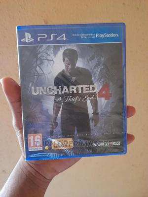 Playstation 4 Uncharted 4 the Thief End   Video Games for sale in Lagos State, Ikeja