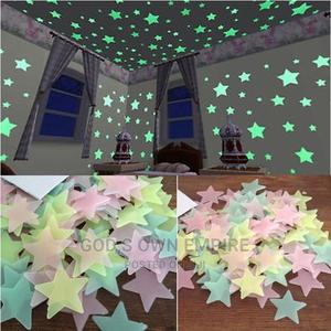 100pcs Glow in the Dark Stickers | Home Accessories for sale in Lagos State, Agege