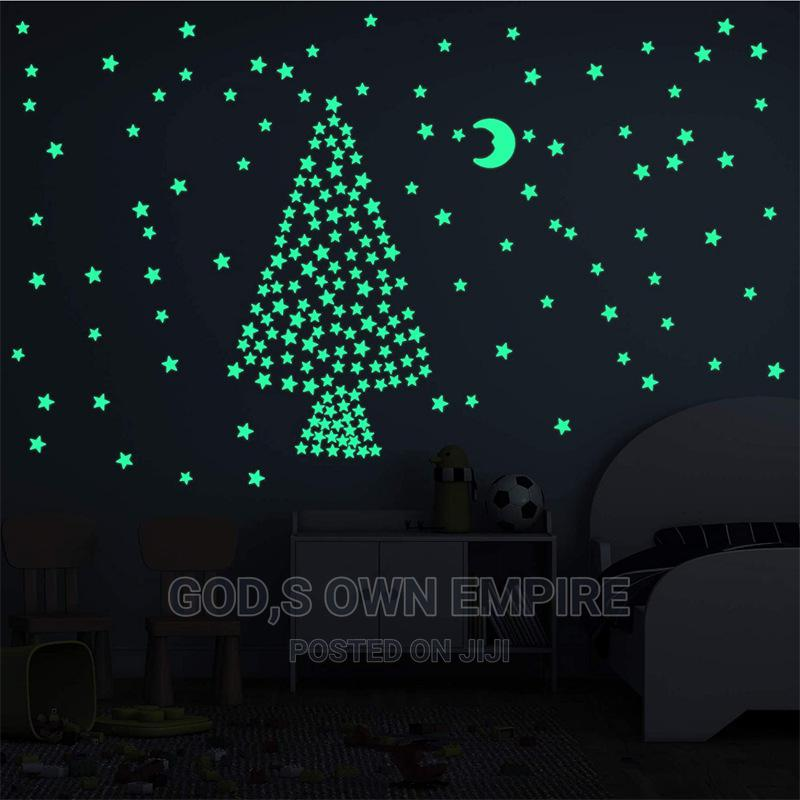 100pcs Glow in the Dark Stickers | Home Accessories for sale in Agege, Lagos State, Nigeria