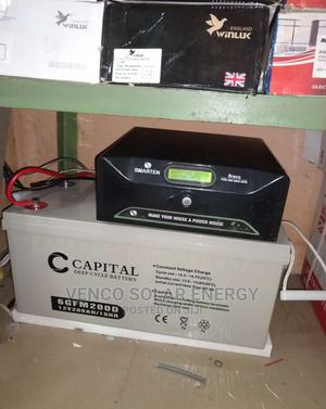 1kva Installation Inverter Battery Panel Charge Controller   Solar Energy for sale in Lagos State, Amuwo-Odofin