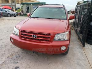 Toyota Highlander 2002 Red | Cars for sale in Lagos State, Ajah