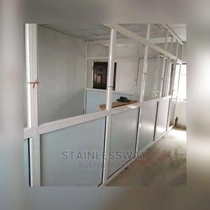 Office Partition With Aluminium Frame | Windows for sale in Abuja (FCT) State, Wuse