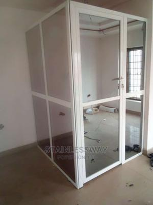 Aluminium Office Partition 003 | Windows for sale in Abuja (FCT) State, Gwarinpa