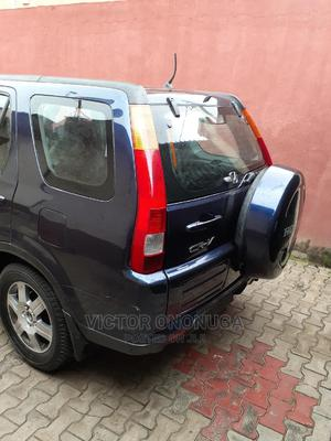 Honda CR-V 2004 EX 4WD Automatic Blue | Cars for sale in Lagos State, Surulere