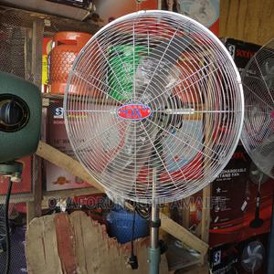 """Ox Industrial Standing Fan """"20"""" 