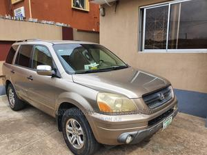 Honda Pilot 2004 LX 4x4 (3.5L 6cyl 5A) Brown | Cars for sale in Lagos State, Ikeja