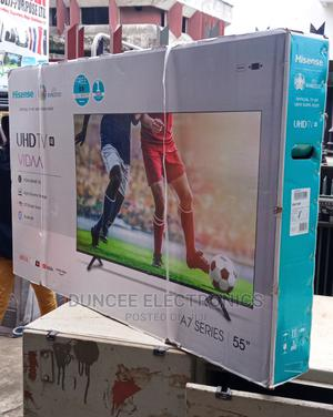 Hisense 55 Inches Smart Uhd T.V A7 Series   TV & DVD Equipment for sale in Lagos State, Ojo