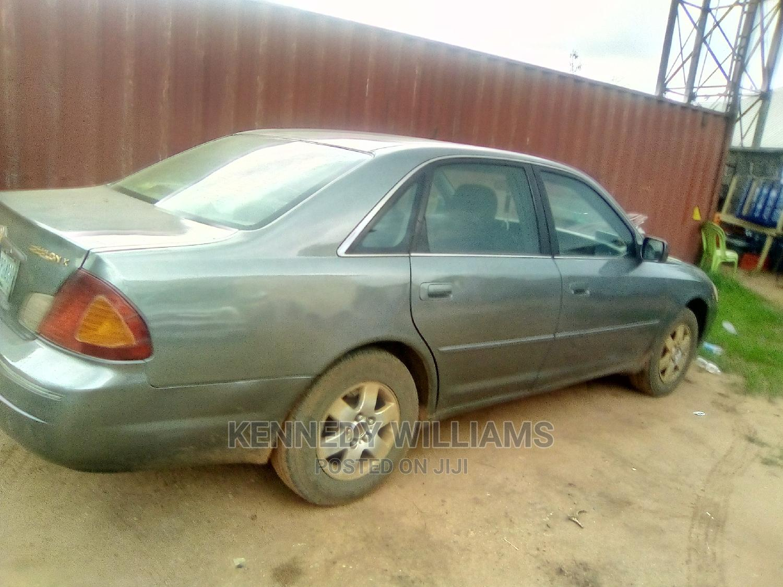 Archive: Toyota Avalon 2002 XL W/Bucket Seats Gray