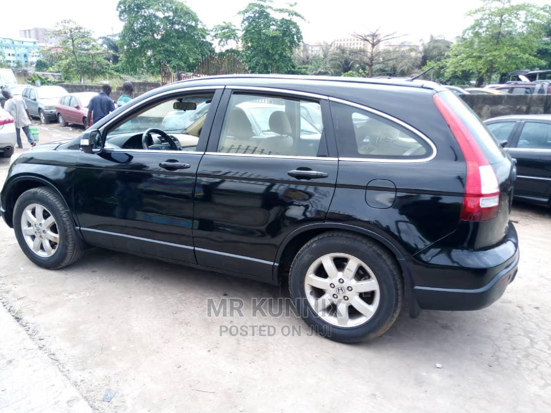 Honda CR-V 2008 2.4 LX Automatic Blue | Cars for sale in Ojodu, Lagos State, Nigeria
