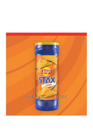 Stax Cheddar Flavoured Potato Crisps   Meals & Drinks for sale in Lagos State, Surulere