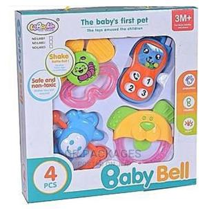 Baby Bell Rattle Set | Toys for sale in Lagos State, Surulere