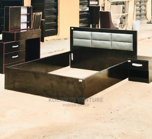 Classic 4 and Half Bed With Dressing Mirror. | Furniture for sale in Lagos State, Ikorodu