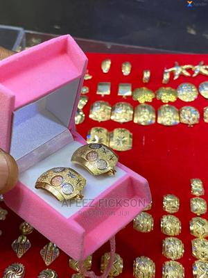 Original Pure Gold Clip Earrings   Jewelry for sale in Lagos State, Victoria Island