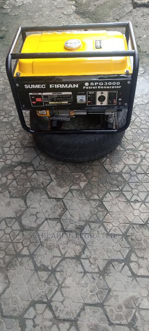A Well Trusted, Neat 2.8kva Sumec Firman Spg3000 Gen+Receipt   Electrical Equipment for sale in Rivers State, Port-Harcourt