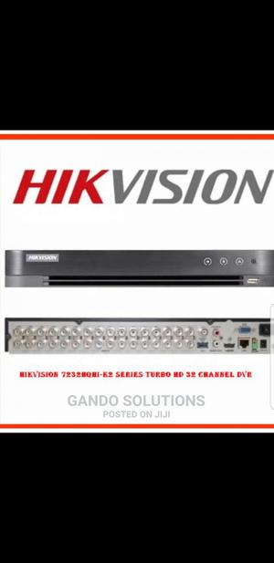 Hikvision Ds-7232hqhi-K2 Series Turbo HD 32 Channel DVR | Security & Surveillance for sale in Lagos State, Ikeja