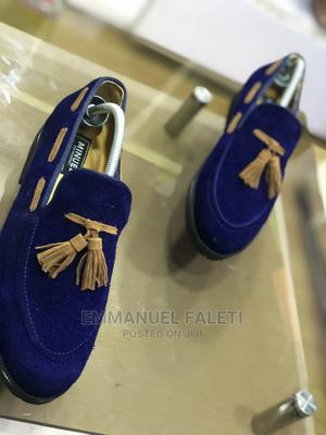 Blue Suede Loafers   Shoes for sale in Lagos State, Mushin
