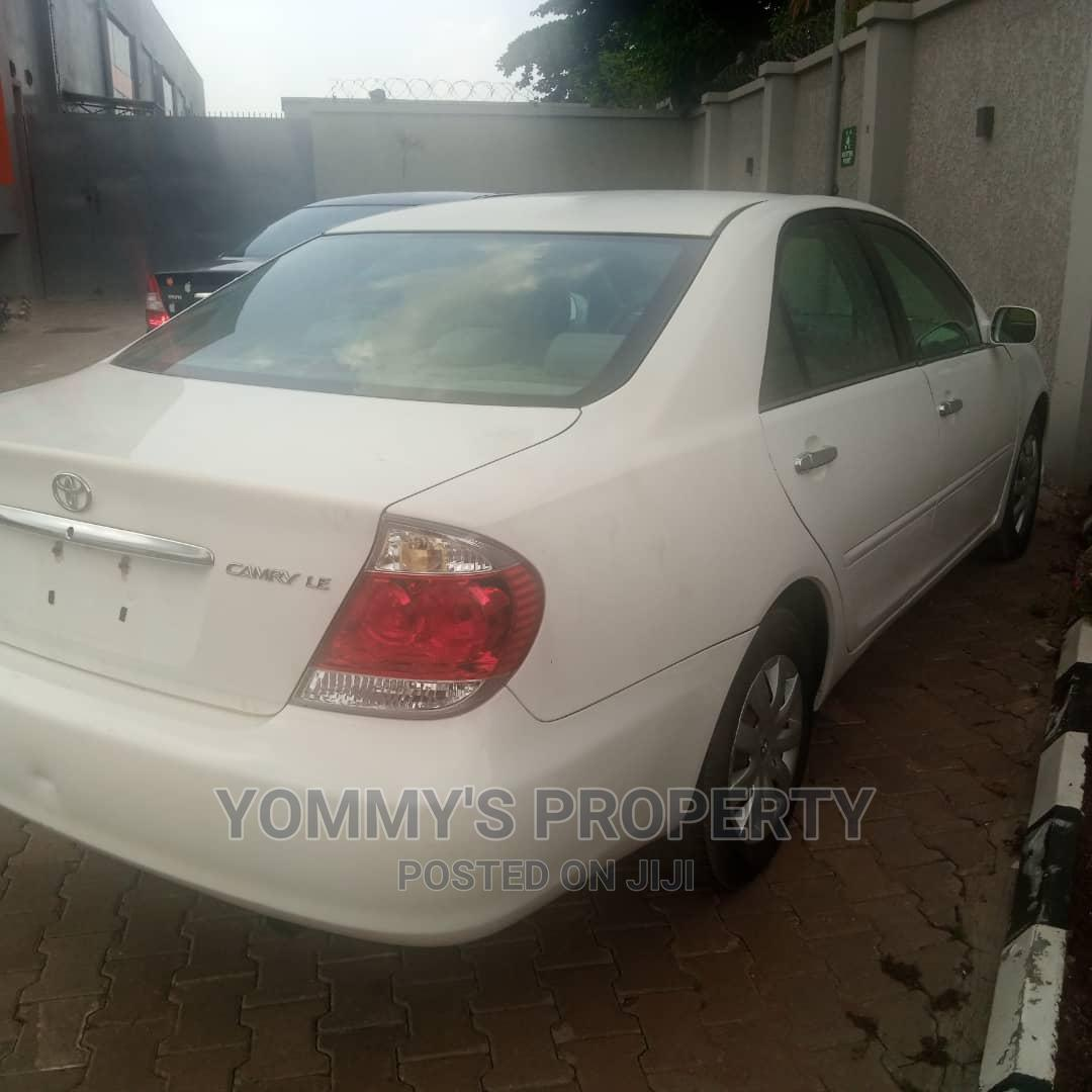 Toyota Camry 2005 Other