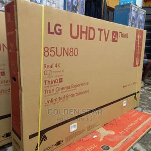 2021 New Made LG 85''inchs UHD TV 4K Android Smart Wi-Fi's   TV & DVD Equipment for sale in Lagos State, Apapa