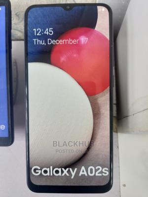 New Samsung Galaxy A02S 32 GB Black   Mobile Phones for sale in Lagos State, Ikeja