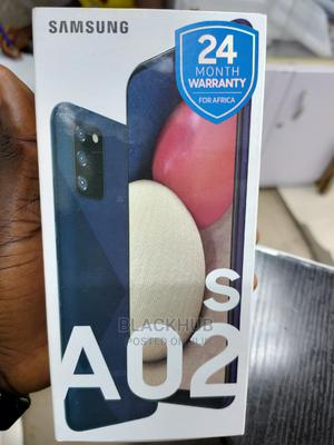 New Samsung Galaxy A02S 64 GB Black   Mobile Phones for sale in Lagos State, Ikeja